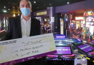 Le jackpot de la roulette anglaise électronique du casino des Sables-d'Olonne est tombé (37 000 €)